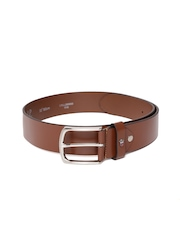 Louis Philippe Men Brown Leather Belt