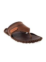 Mochi Men Tan Brown Leather Sandals