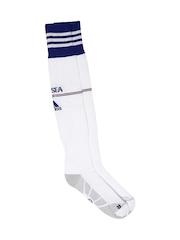 Adidas Men White Chelsea Football Socks
