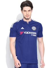 Adidas Blue Chelsea Football Club Printed Jersey