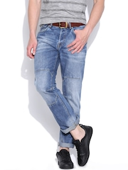 Jack & Jones Blue Washed Boxy Loose Fit Jeans