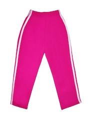 SWEET ANGEL Girls Pink Track Pants
