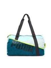 PUMA Blue Studio Barrel Oversized Shoulder Bag