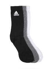Adidas Unisex Set of 3 Socks