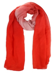20Dresses Red Ombre-dyed Scarf