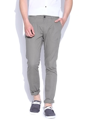 John Players Grey Balloon Fit Casual Trousers