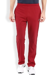 2go ACTIVE GEAR USA Red Tapered Fit Track Pants