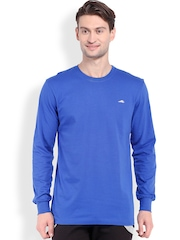 2go ACTIVE GEAR USA Blue Relaxed Fit Sports T-shirt