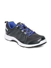 Reebok Men Charcoal Grey Run Quick Running Shoes