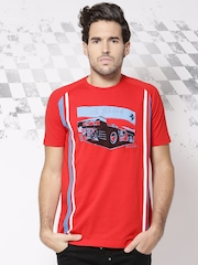 Ferrari Red Sebring Printed T-shirt
