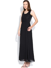Vero Moda Black Beaded Maxi Dress