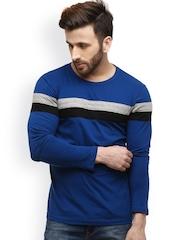 GRITSTONES Blue T-shirt