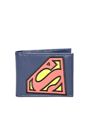 Superman Unisex Navy Wallet