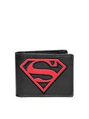 Superman Unisex Black Wallet
