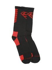 Superman Men Black Crew Socks