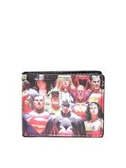 DC Comics Unisex Multicoloured Printed Wallet