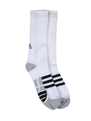 Adidas Unisex White Tennis ID FC 1P Socks