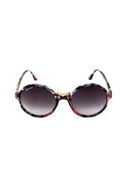 Chevera Women Printed Round Sunglasses CH50629
