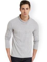 ELABORADO Grey Slim Fit T-shirt
