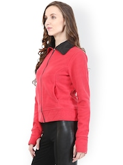 The Vanca Fuschia Pink Woollen Jacket
