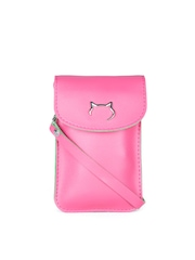 Carry On Women Pink Samsung Galaxy Note 4 Mobile Pouch