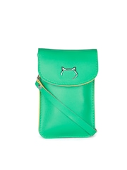 Carry On Women Green Samsung Galaxy Note 4 Mobile Pouch