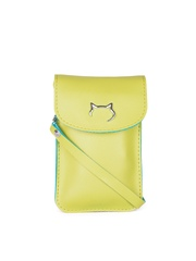 Carry On Women Yellow Samsung Galaxy Note 4 Mobile Pouch