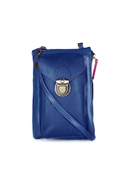 Carry On Women Blue Samsung Galaxy Note 4 Mobile Pouch