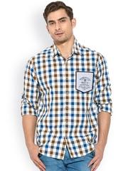 Mufti Multicoloured Checked Casual Shirt