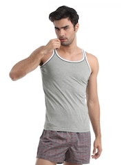 Chromozome Men Grey Innerwear Vest