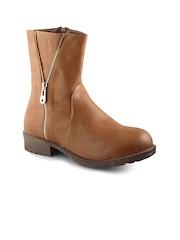 20D Women Brown Boots