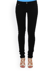 20D Women Black Slim Fit Jeans