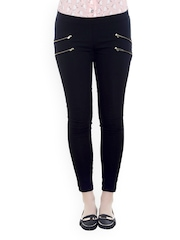 20D Women Black Treggings