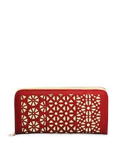20D Women Red Wallet