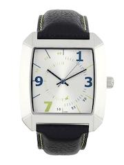 Fastrack Men Steel Dial Watch N9336SL02