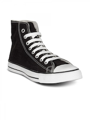 Converse Men's AS Canvas HI Black Shoe