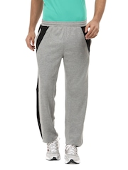 2go Active Gear USA Men Grey Melange Lewis Track Pants