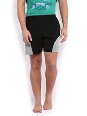 2go Active Gear USA Men Black Lounge Shorts SH06
