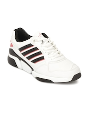 Spinn Men Orbit White Sports Shoes