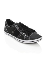 Spinn Men Benzeen Black Shoes
