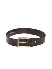 47 Maple Men Coffee Brown Leather Belt