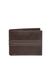 47 Maple Men Brown Leather Wallet