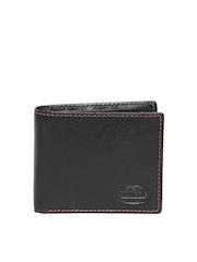 47 maple Men Black Leather Wallet