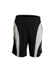 Jockey Men Black Knit Sport Shorts