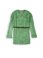 612 Ivy League Girls Green Shift Dress
