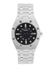 Maxima Men Black Dial Watch