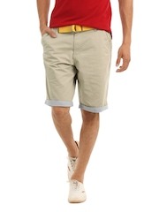 John Players Men Grey Shorts