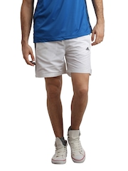 Adidas Men White Chelsea Shorts