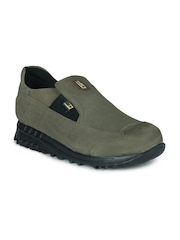 Force 10 Men Olive Green Shoes