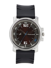 Fastrack Men Brown Dial Watch